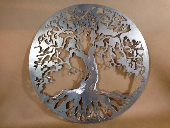 "Items Similar To 20"" Decorative Tree Of Life Plasma Cut"
