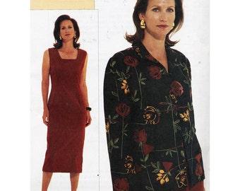 Vogue Sewing Pattern 7537 Misses' Petite Jacket & Dress  Size:  A-B-C  Uncut