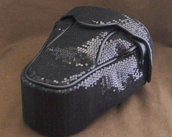 DSLR Camera Bag Case : Black Spangle II
