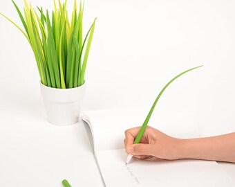 Grass Leaf Design Ballpoint Pen