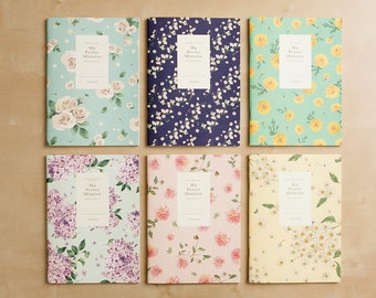 Ruled Notebook [floral pattern] / Flower Ruled Notebook / Blossom Notebook / 101002677