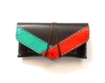 Leather tobacco pouch/ Leather tobacco case