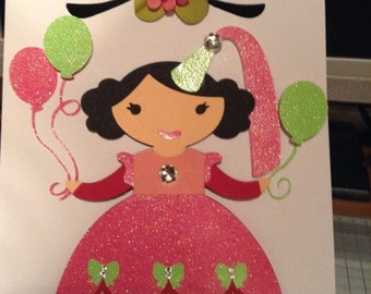 Princess BIrthday card
