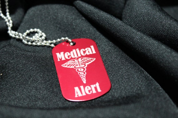 Medical Alert Necklace Custom Medical Alert Dog Tag Necklace. Living Room Chaise Lounge. Oriental Room Dividers. Decorative Travertine Tile. Media Room Lounge. Wholesale Wedding Decorations. Wall Decor Stickers. Turquoise And Purple Decorations. Medallion Wall Decor