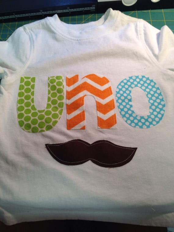 UNO first birthday shirt, mustache fiesta first birthday, cinco de mayo birthday shirt, baby boys uno shirt, rainbow colors shirt, mustache