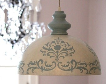 Popular items for bedroom dining room on etsy - Shabby chic lighting fixtures ...