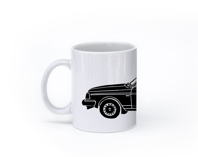 KillerBeeMoto:  U.S. Made Limited Release Station Wagon Coffee Mug (White)