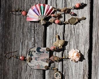 Set of Geisha Earrings