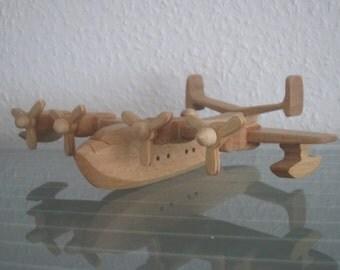 Consolidated PB2Y Coronado bomber  vintage airplane aviator wood NEW