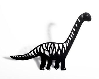 Brontosaurus Shadow Puppet - Laser Cut Dinosaur