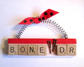 Bone Doctor Orthopedist Scrabble Tile Ornament