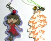 Thalissa from the Crystal Ball Webcomic Phone Charm