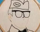 Reserved for Doug -Steve Martin Embroidery