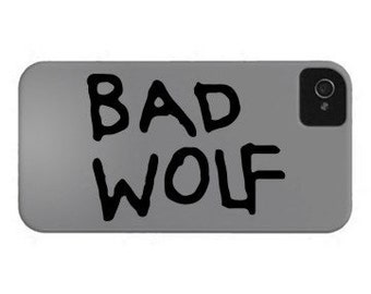 Dr. Who - Bad Wolf Decal (small)