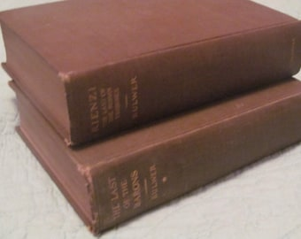 "1905, ""Harold The Last of the Saxon Kings"" by Edward Bulwer Lytton  2 Volumes"