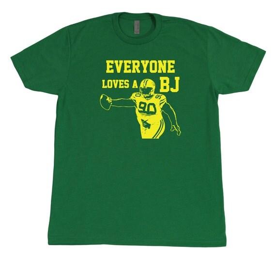 Bj Raji Tshirt Retro Vintage Everyone Loves A Bj Green By