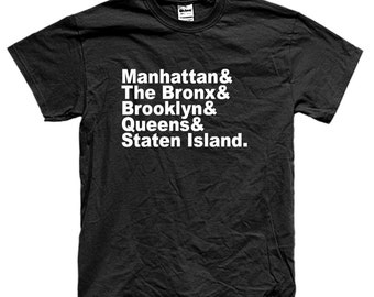 Brooklyn t shirts etsy for Custom t shirts in queens ny