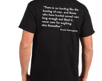 Police T Shirt Funny Policeman Shirt Ernest Hemingway  Tee Profession T-Shirt Gift Gift