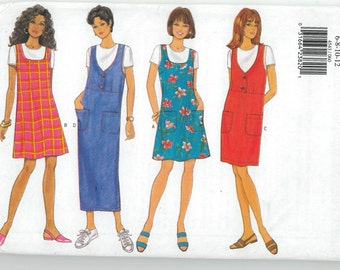 Sewing Pattern - Misses Out of Print Pattern Dress in Four Views - Butterick # 4543 TK