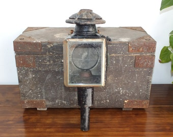Vintage Carriage Light  Metal Carriage Lantern  Country Feel  Carriage Lamp  Candle Holder  Lighting  Outdoor Lighting  Home Decor