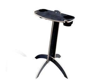 Drink Table - Indoor, Outdoor - Holds Beverages and Wine Glasses