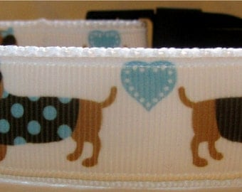 Sausage dog/dachshund dog collar