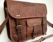 Best Leather Messenger Bag Laptop Bag Macbook bag Everyday Bag