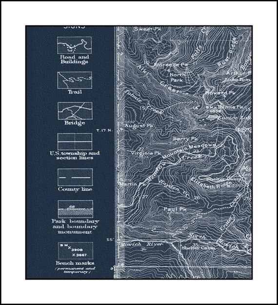 Worksheet. MOUNT RAINIER Map Blue Print Map Topo Maps Pacific