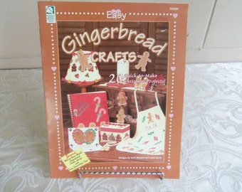 Easy Gingerbread Crafts Booklet  (1999)