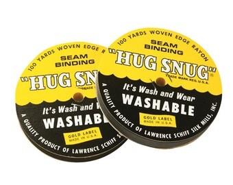 HS1BK -Hug Snug Seam Binding - Black