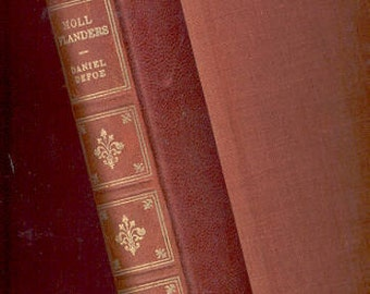 Daniel Defoe, The Fortunes of the Famous Moll Flanders Who was Born in Newgate, 1953, Adventures, Romance Fine Editions Press Vintage Book