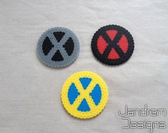 X-Men team symbol, bead sprite logo