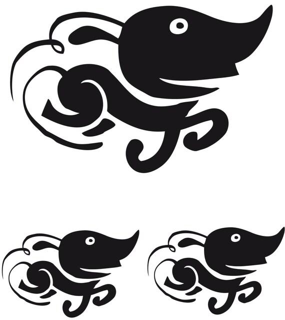 Stickers l'Imagination Galopante d'Hubert Mounier (Cleet Boris), chanteur de l'Affaire Louis Trio