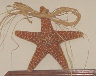 Raffia Sugar Starfish | Sugar Starfish | Home Decor