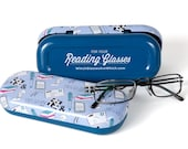Reading Glasses Hard Case - Great Gift for Bookclub Friends, Crossword Puzzlers, Keen Readers