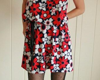 Vintage Daisy Skirt or Dress, You choose!