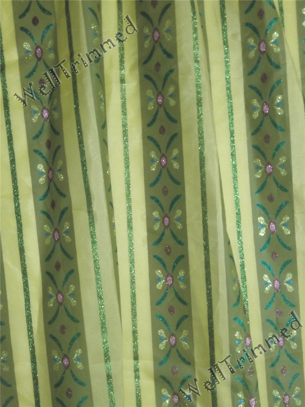 Anna Coronation Dress Fabric