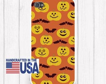 Silly Pumpkin Bat  Halloween Phone Case Halloween iPhone 6/6S, iPhone 5/5S, iPhone SE, Samsung iPhone7 iPhone 7
