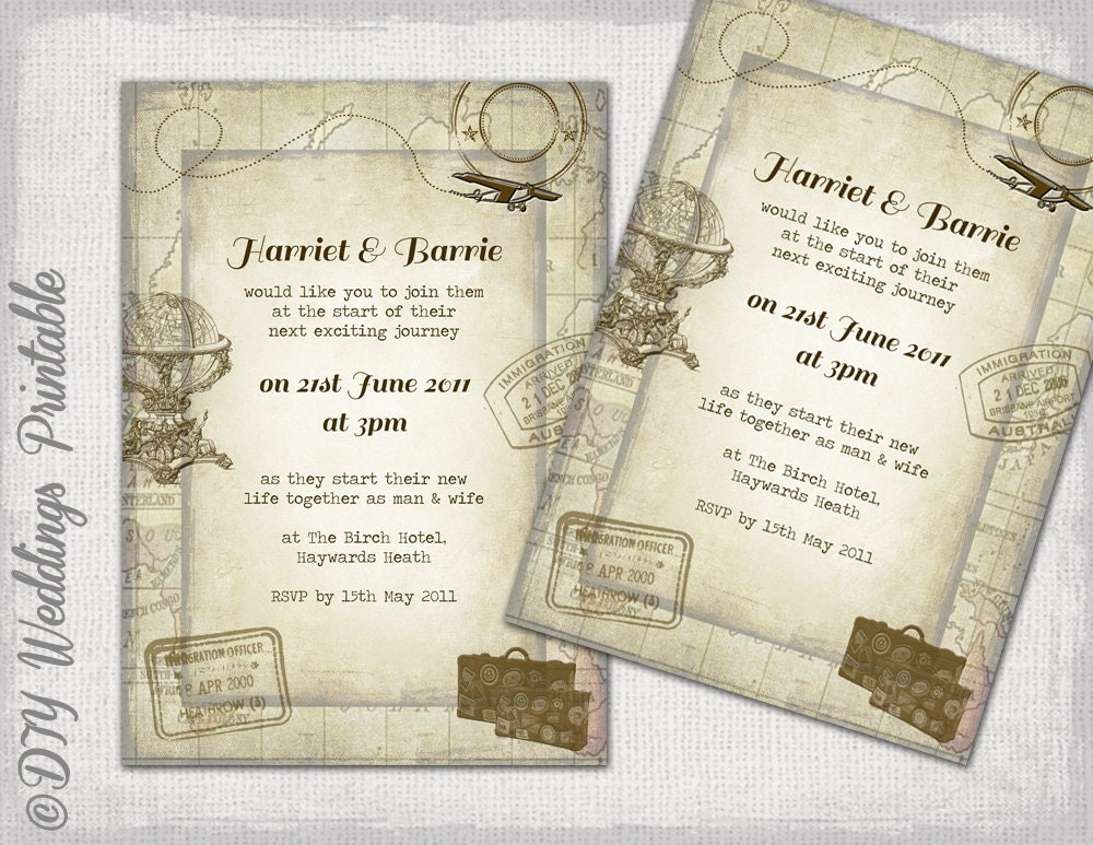 Destination Wedding Invitation Templates – orderecigsjuice.info