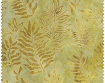 Fresh Water Java Batiks Golden Branch Batik Fabric by the Yard GALJABNDF6-0029