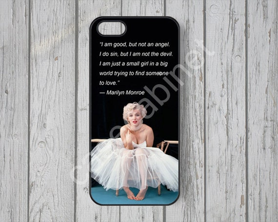 Iphone 5 Cases Marilyn Monroe Quotes Grace on Etsy