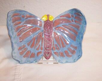 Butterfly Ceramic Decorative Jewelry Tray