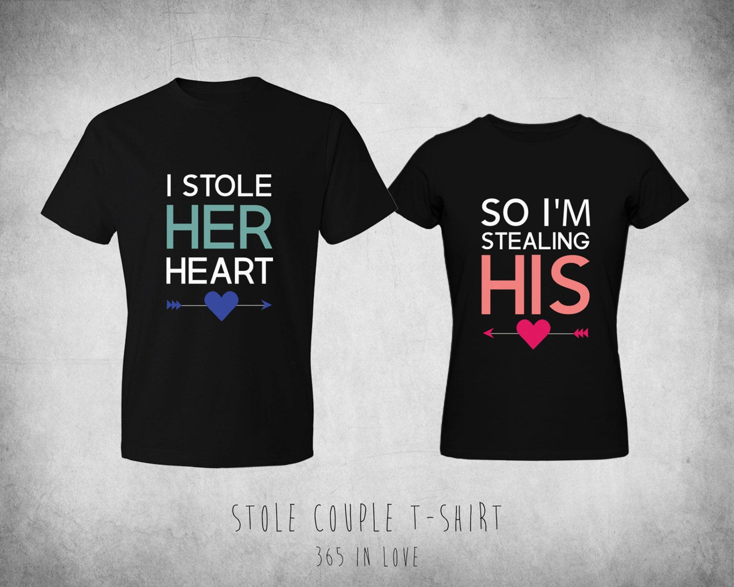 Cute His and Her Matching TShirts I Stole Her by ...