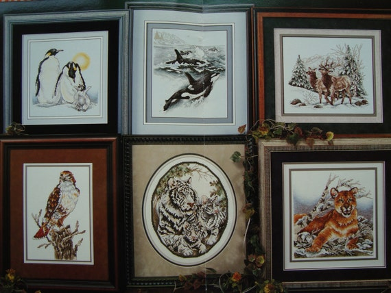 Wild Animal Cross Stitch Patterns