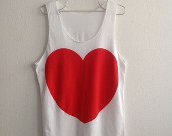 My Heart My Soul Fashion Print Lovely Tank Top