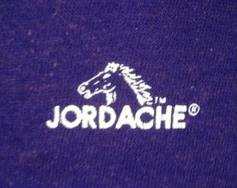 Vintage Women's 1980s Purple JORDACHE Sweater Vest