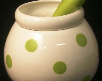 CLEARANCE SALE - Ceramic Dip Bowl ~ Dip bowl and spreader ~ Hot/Cold Dip Bowl Cheese Ball Dips and Spreads Dip Mix