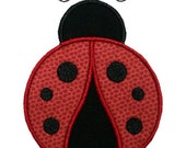 Ladybug Applique Machine Embroidery Design Bug