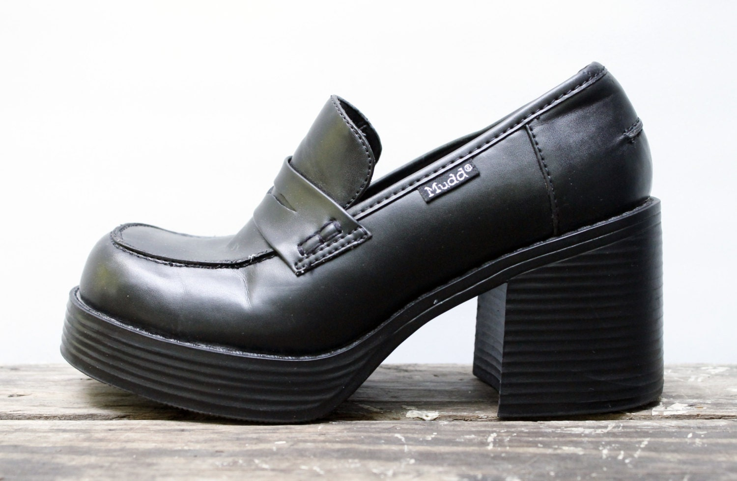 Mudd Chunky Heel Shoes - Is Heel