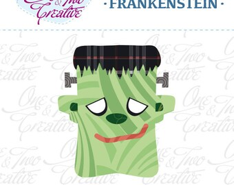 Frankenstein Fabric APPLIQUE TEMPLATE Only PDF - Instant Download - Permission to Sell Finished Items
